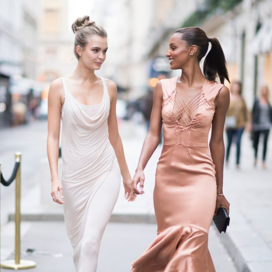 Josephine Skriver and Jasmine Tookes Instagram Photos