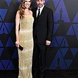 Hilary Swank and Philip Schneider