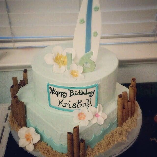 Ocean City Girl Summer Birthday Cakes Popsugar Moms Photo 24