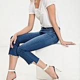 Raw-Edge Jeans