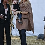 Rachel Zoe and her son, Skyler, spent some time together in LA.