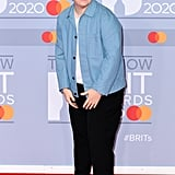 Lewis Capaldi on the 2020 BRIT Awards Red Carpet