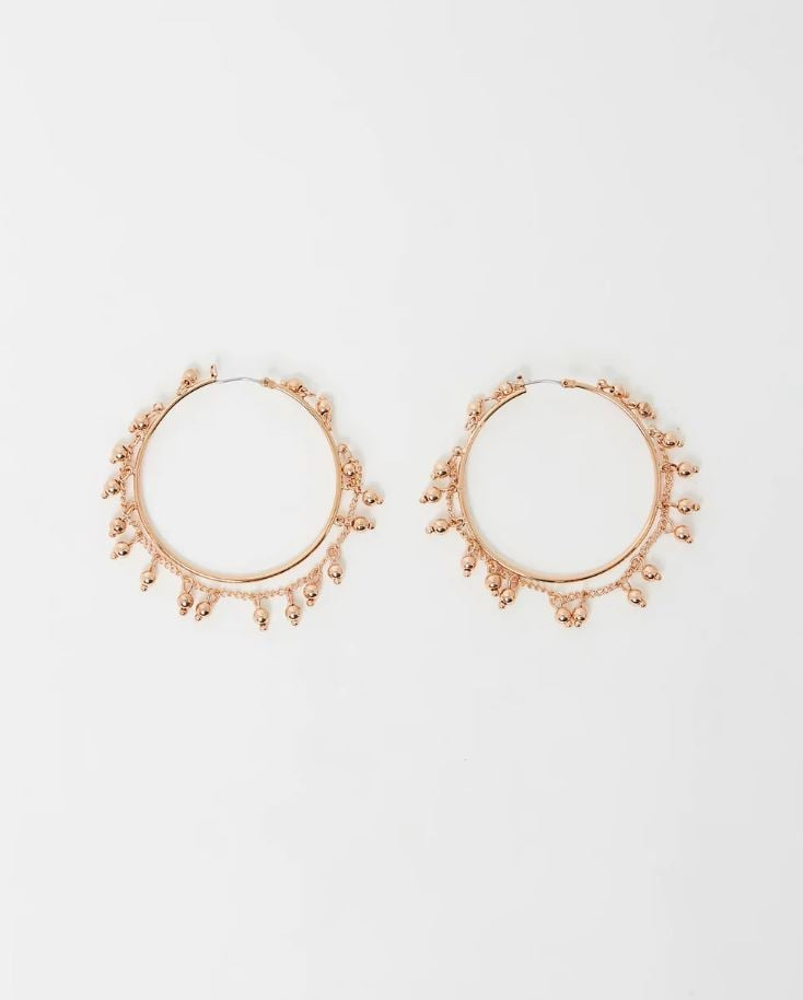 These Two Pairs of Earrings