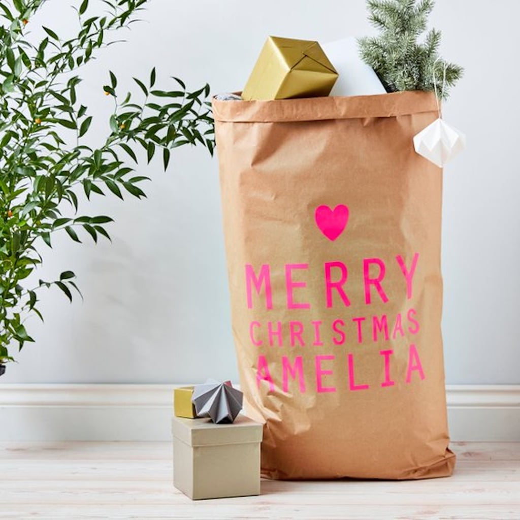 Personalized Gift Sacks 2018