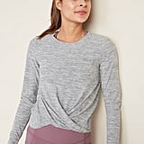 Old Navy Relaxed Breathe ON Twist-Hem Cropped Top