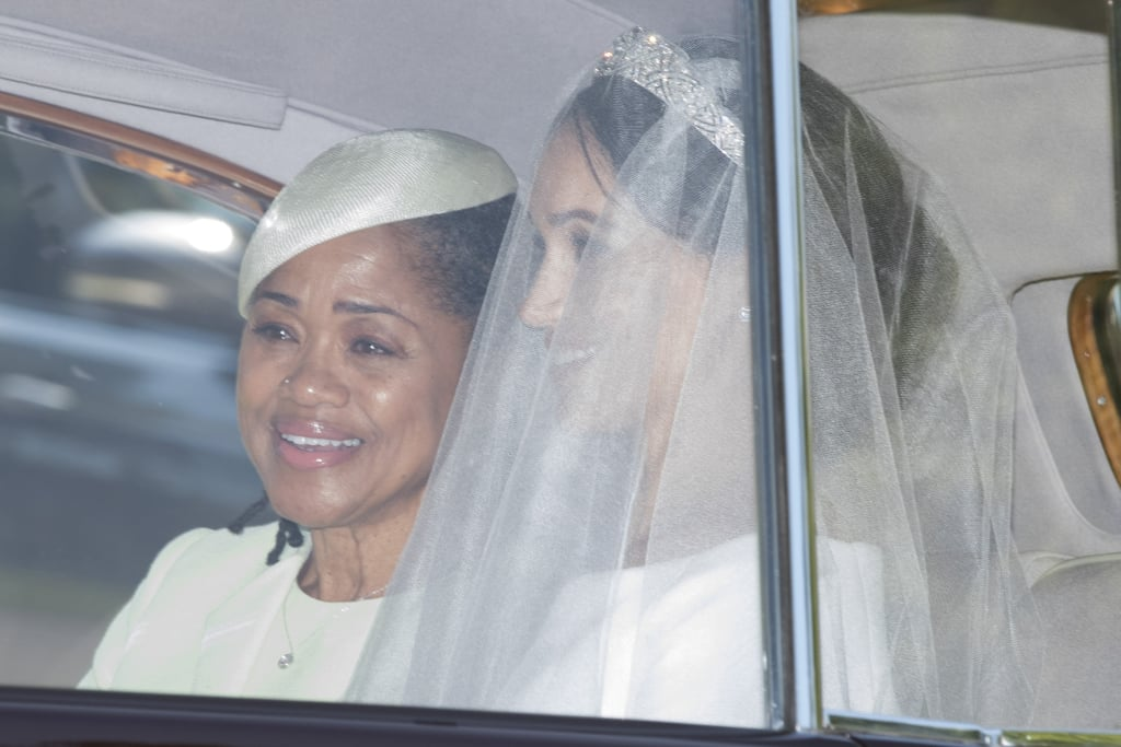 Meghan Markle's dad, Thomas, may not have been able to make the trek across the pond to watch his daughter wed Prince Harry on Saturday, but her mum, Doria Ragland, was front and centre. The two arrived together to St. George's Chapel at Windsor Castle in a vintage Rolls Royce, and Doria looked beautiful in a gorgeous green ensemble. Unfortunately, Meghan's father couldn't make it to the wedding, as he's been experiencing some ongoing health issues with his heart. Thomas recently revealed to TMZ that he suffered a heart attack, and despite checking himself out early from the hospital so that he could attend, the former lighting director had to check himself back in and underwent heart surgery on Wednesday. We're wishing Thomas a speedy recovery!      Related:                                                                                                           5 Things You Should Know About Meghan Markle's Mum