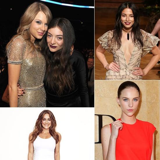 POPSUGAR Celeb, Fashion, Beauty, Health: Lorde, David Jones