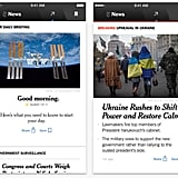 NYT Now (free, iOS) — For $2 a week, get 40 top stories from The New York Times.