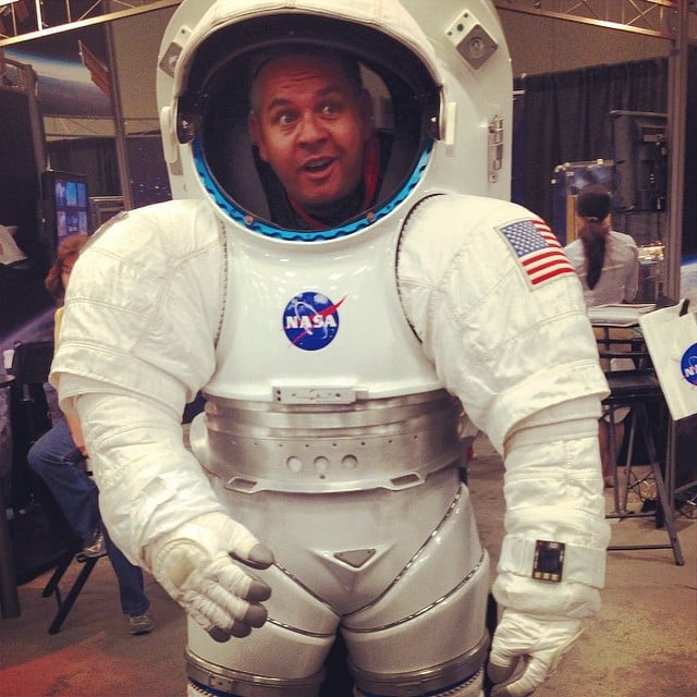 The NASA Astronaut Uniform That Everyone Took a Photo In
