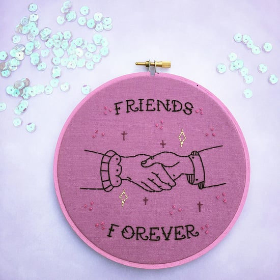 Embroidery Hoops For Best Friends