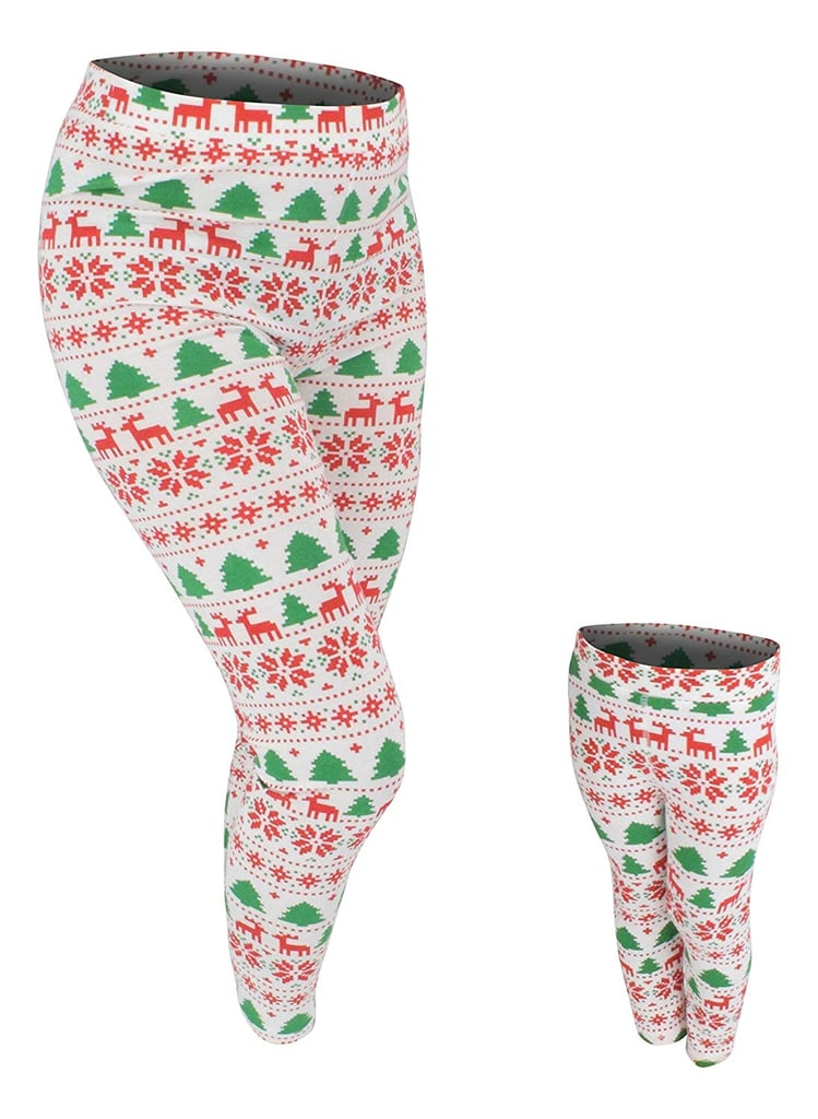 Unique Baby UB Mommy and Me Winter Print Christmas Leggings