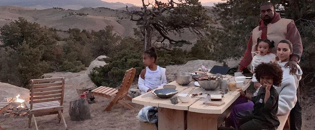 Kim Kardashian and Her Family on Holiday in Wyoming