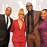 Jay-Z and Beyonce Knowles stepped out to join LeBron James, and Savannah Brinson at the Sports Illustrated Sportsman Of The Year Awards in NYC.