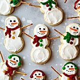 Lofthouse-Style Snowman Sugar Cookies