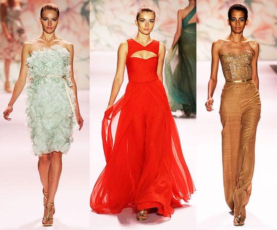 Spring 2011 New York Fashion Week: Monique Lhuillier 2010-09-13 16:02:02