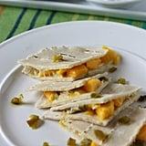 Mango and Jalapeño Quesadillas