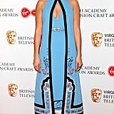 Jodie Comer at the 2017 BAFTA TV & Craft Awards