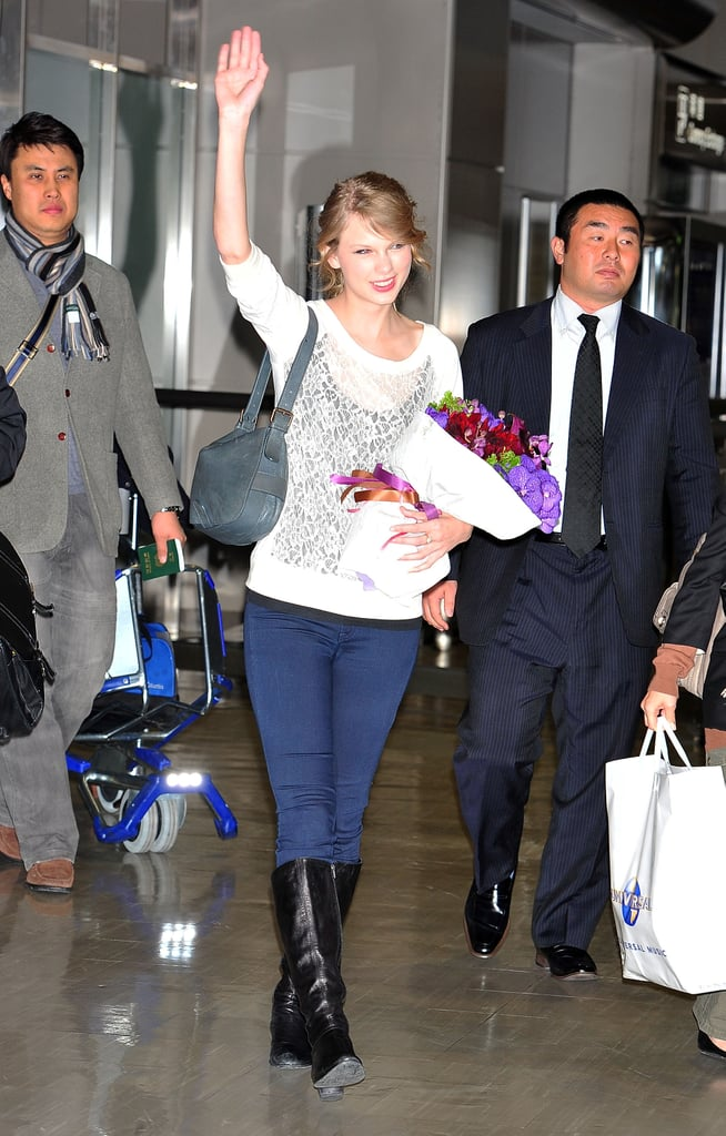 Taylor Swift Arriving In Japan Popsugar Celebrity Australia Photo 7