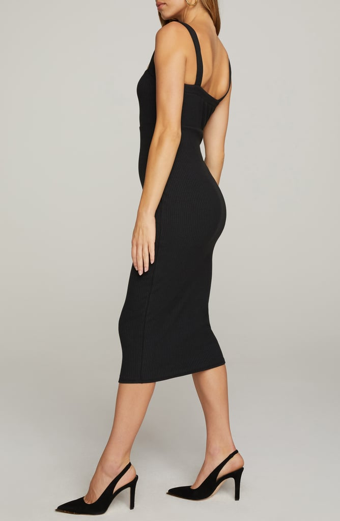 For a Dress That's Made For You: Good American Ribbed Tank Dress