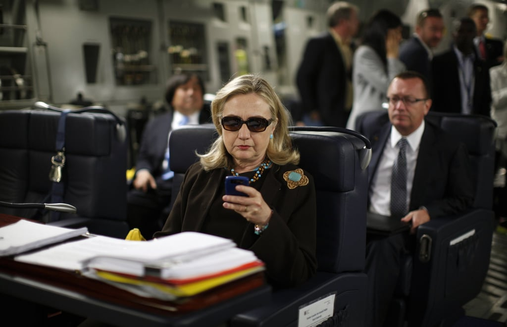 """Hillary Clinton's """"Delete Your Account"""" Moment"""