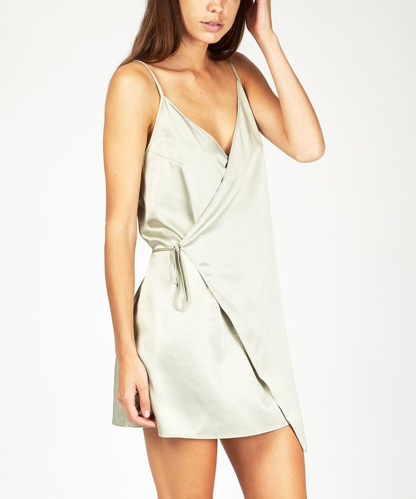 Alice in the Eve Signature Silky Wrap Dress, $89.95 | Last Minute ...