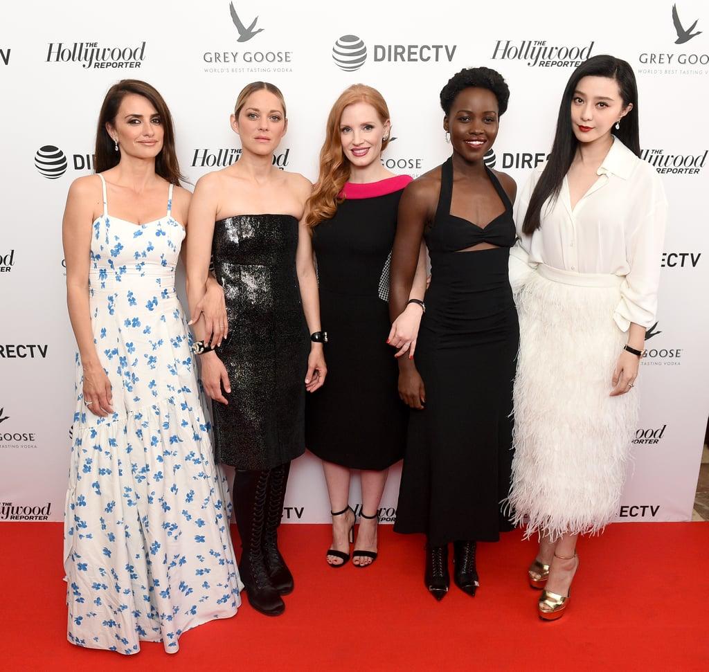 Penelope Cruz, Marion Cotillard, Jessica Chastain, Lupita Nyong'o, and Fan Bingbing