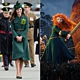 Kate as Merida