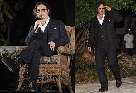 Photos of Johnny Depp and Sean Connery at a Johnny Depp Tribute During the Bahamas International Film Festival 2009-12-14 07:00:00