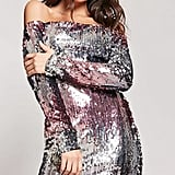 Forever 21 Ombre Sequin Dress