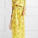 Eywasouls Malibu Evelyn Floral-Print Chiffon Maxi Dress