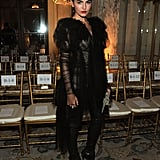 Camilla Belle looking dramatic.