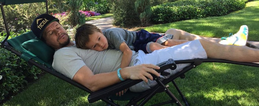 14 Photos of Mark Wahlberg and His Kids That Prove He's a Big Softie