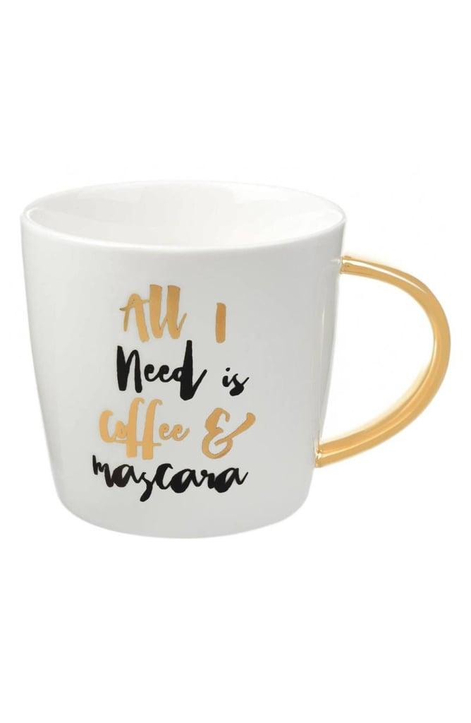 Slant Collections 'Coffee & Mascara' Mug