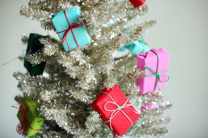 cheap christmas tree ideas