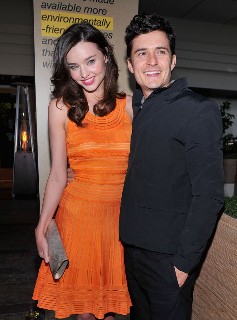The environment-loving couple attended Global Green USA's Millennium Awards in Santa Monica in June 2011.