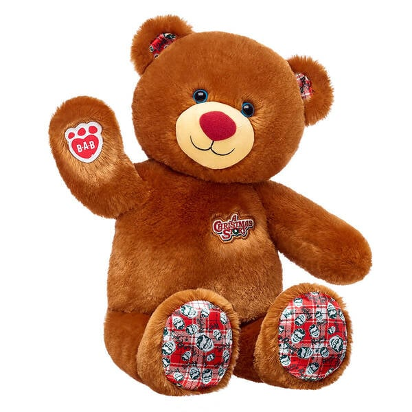 The Bear That Comes in the A Christmas Story Build-A-Bear Gift Bundle