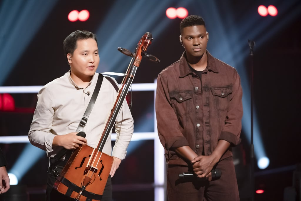 Bukhu Ganburged and Johnny Manuel Battle on The Voice