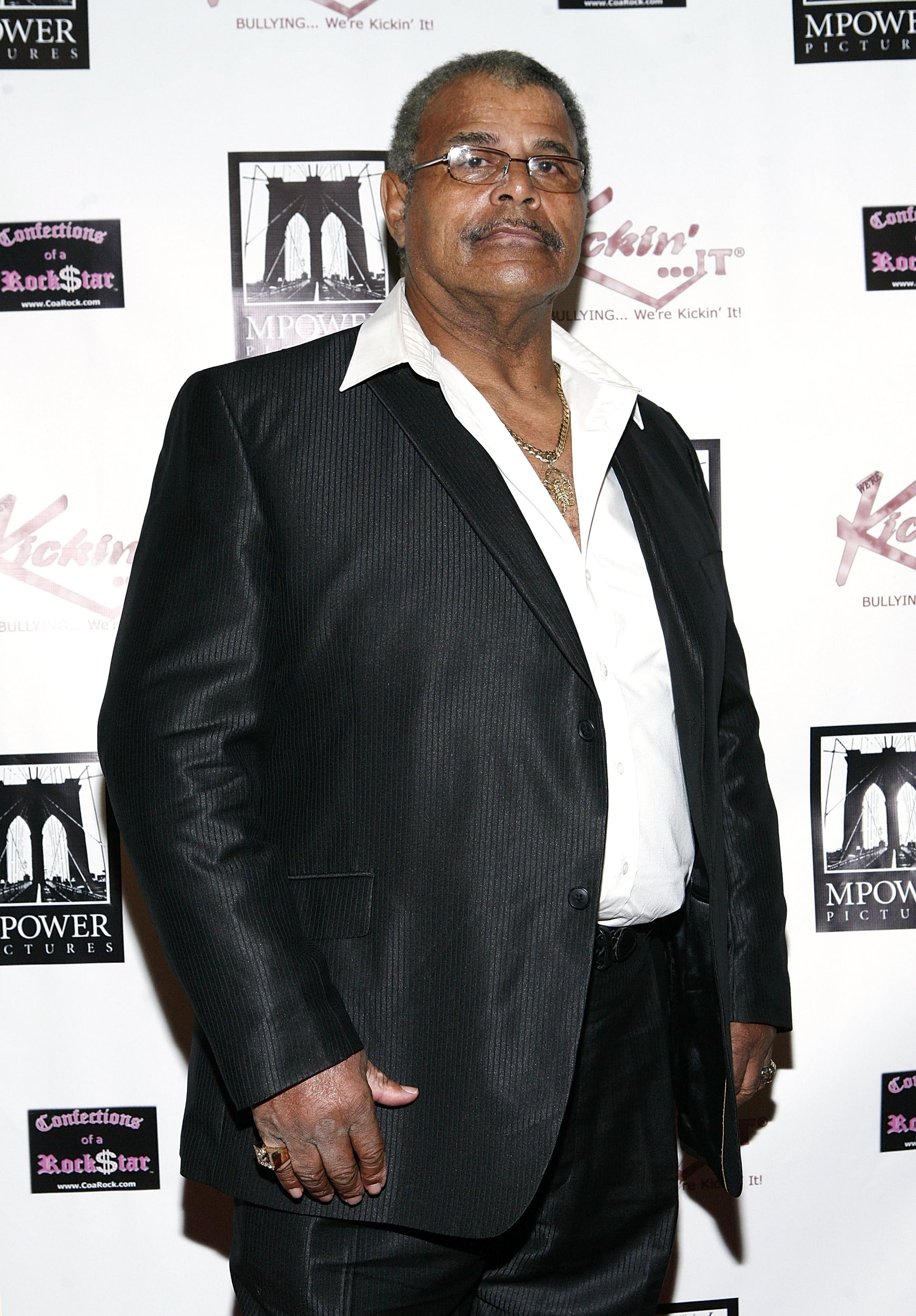 NEW YORK, NY - OCTOBER 20:  Rocky Johnson attends Unite in the Fight... to Knockout Bullying at the Hard Rock Cafe New York on October 20, 2011 in New York City.  (Photo by John Lamparski/WireImage)