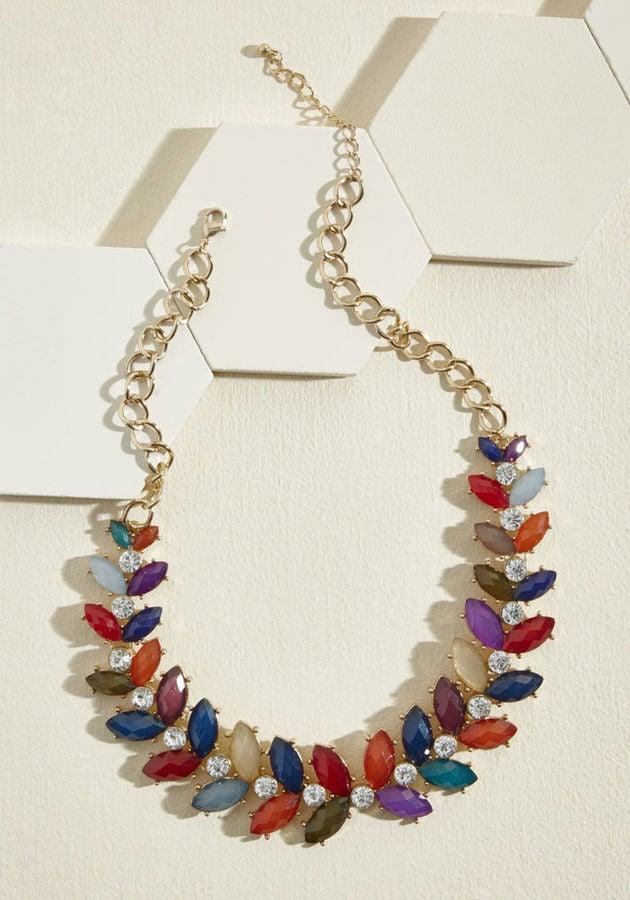 ModCloth Harmonious Harvest Statement Necklace