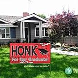 Honk Graduation Banner