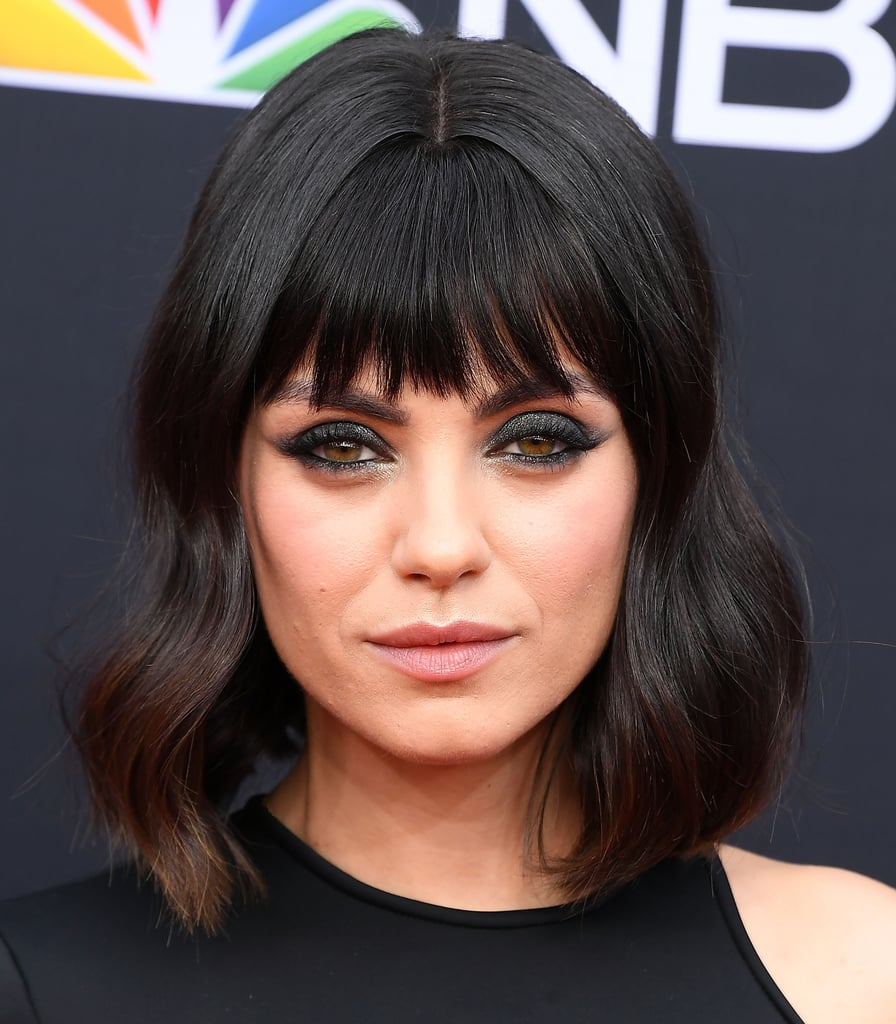 straight across bangs celebrity bang inspiration summer 2018