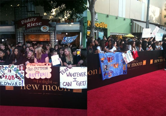 Photos From New Moon Premiere