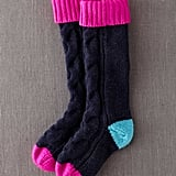 Boden's Xmas Gift Socks ($29, originally $38) were literally made for padding around the house on Chrismas Day.