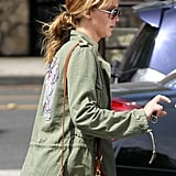 Jennifer Lawrence ran errands in LA.