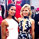 Padma Lakshmi linked up with Julie Bowen.