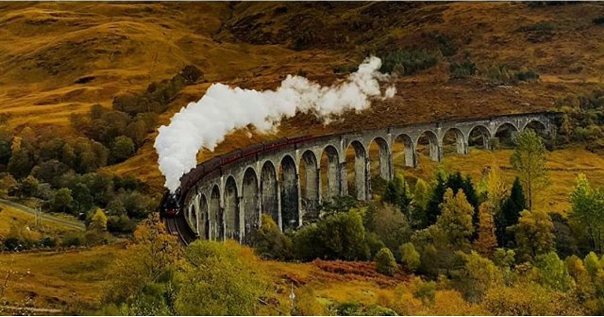 Pack Your Bags and Hit the Rails With 15 of the UK's Most Scenic Train Rides