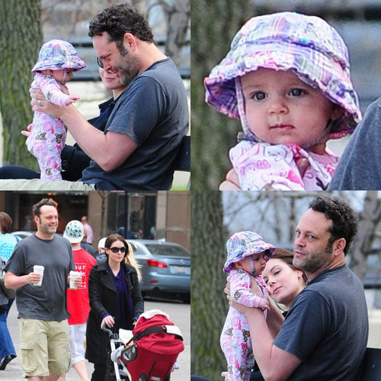 Pictures of Vince Vaughn's Daughter Lochlyn