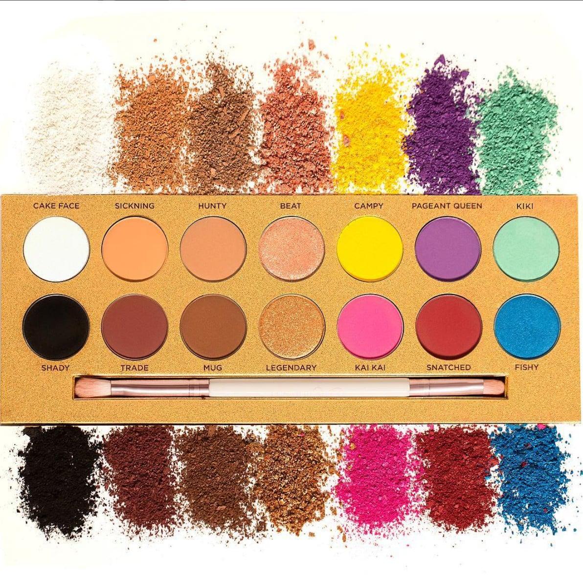 Znalezione obrazy dla zapytania Life's A Drag Eyeshadow Palette