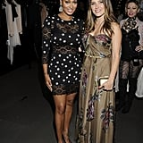 Sophia Bush and La La Vazquez on Fashion's Night Out.