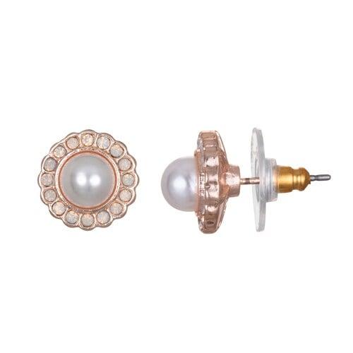 LC Lauren Conrad Simulated Pearl June Birthstone Nickel Free Stud Earrings